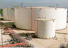 Automated Petrochemical Tanks